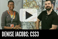 Denise Jacobs: CSS3 & Achieving Goals