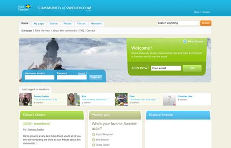 communityofsweden.com