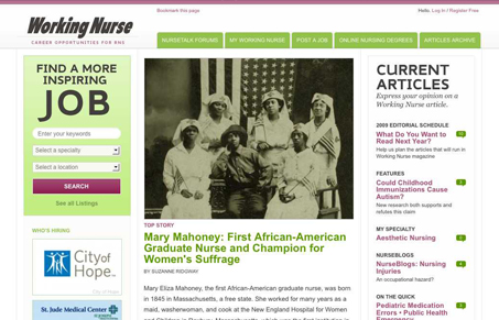 workingnurse.com