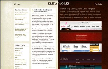 erikaworkscom