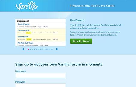 vanillaforumscom