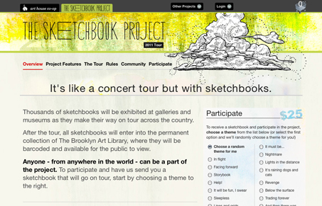 sketchbookproject