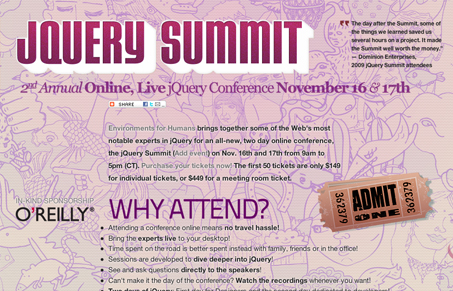 jQuery Summit with Christopher Schmitt   Unmatched Style