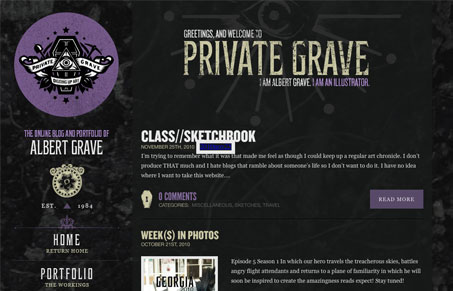 privategravecom