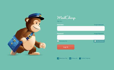 login-mailchimp