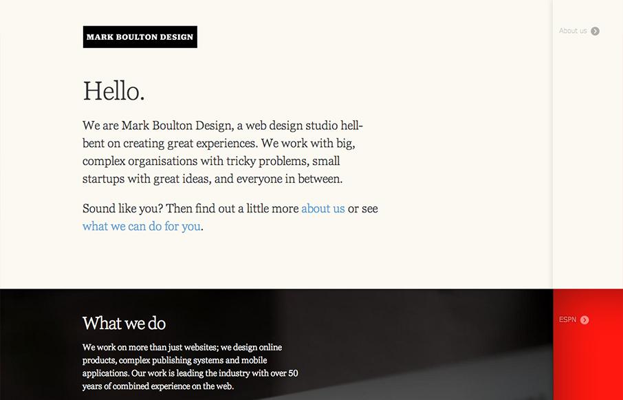 Mark Boulton Design Unmatched Style