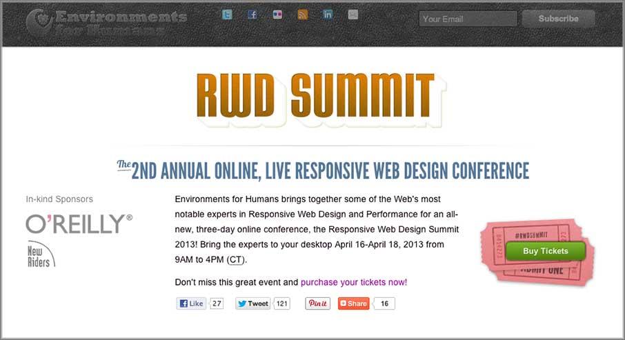 Responsive Web Design Summit 2013