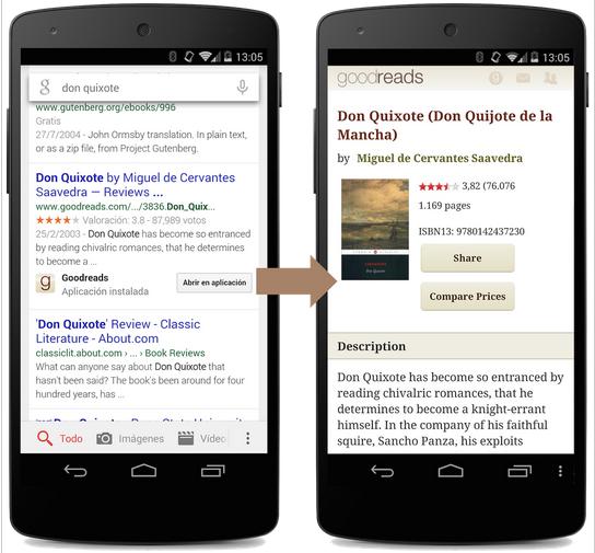 Google - App Indexing Updates
